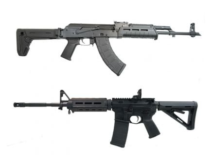 "PSA M4 MOE EPT AR-15 & PSAK-47 GF3 ""MOEkov"" Rifle Set with Matching Serial Numbers"