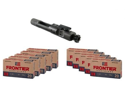 Toolcraft 5.56 Phosphate MPI Full-Auto BCG & 200rds of Hornady Frontier 5.56 NATO 55gr FMJ Ammo