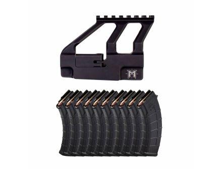 AK Master Optic Mount & 10 Magpul PMAG 30rd 7.62x39mm AK Magazines
