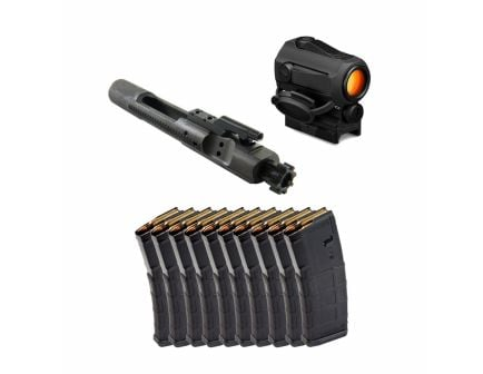 Toolcraft 5.56 Phosphate Full-Auto BCG w/ 10 Magpul PMAG 30rd 5.56 Magazines & Vortex SPARC 2 Red Dot
