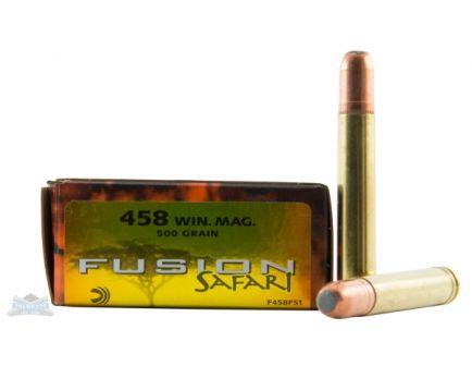 Federal 458 Winchester Magnum 500gr Fusion Ammunition 20rds- - -F458FS1