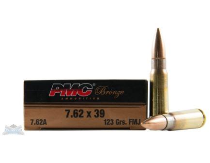 PMC Bronze 7.62x39 123gr FMJ Ammunition 20rds - 7.62A