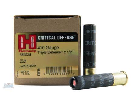 Hornady 410ga Triple Defense Ammunition, 20rd Box  - 86238