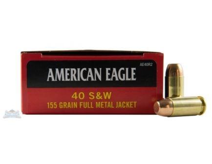 Federal 40 S&W 155gr FMJ Ammunition  50rds - AE40R2