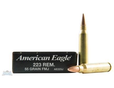 American Eagle 223 55gr FMJ BT Ammunition 20rds - AE223F