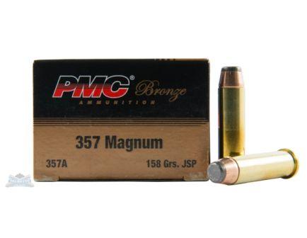 PMC Bronze 357 Magnum 158gr JSP Ammunition 50rds - 357A