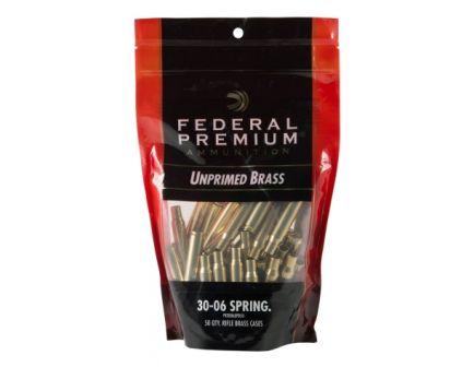 Federal Premium Unprimed Brass .30-06 Spfd. 50ct PR3006UPB50