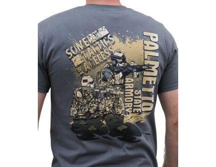 """PSA - """"Tactics"""" T Shirt S/S T-Shirt - Charcoal - L"""