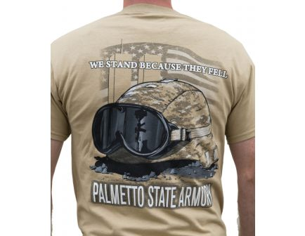 "PSA - ""We Stand"" S/S T-Shirt - Tan - S"