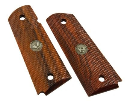 Wilson Combat Grips, Full-Size, Cocobolo, Fully Checkered 351BFS