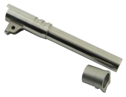 "Wilson Combat Match Grade Barrel, .45 ACP, Full-Size, 5"", Stainless 33G"