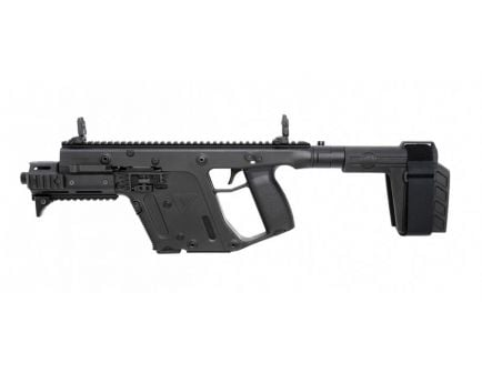 Kriss Vector Gen II SDP-SB Enhanced Black 9mm Parabellum 17+1 Pistol, Black - KV90PSBBL31