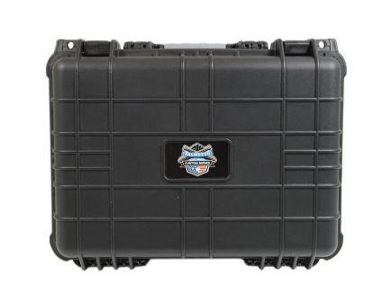 "PSA Custom Watertight 16""x13"" Protective Case, Black - 10195"