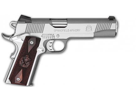 Springfield Armory Loaded 1911 .45ACP Stainless Steel with 11 Gear System PX9151LP