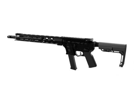 """Lead Star Arms Barrage 16"""" Skeletonized 9mm Rifle, Black Competition Edition"""
