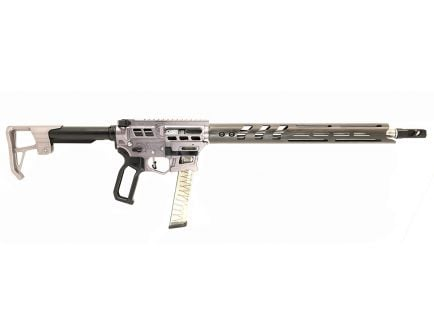 """Lead Star Arms Prime 16"""" Stainless Steel PCC 9mm AR-9 Rifle, Gunmetal w/ Black Accents"""