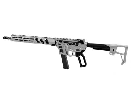 "Lead Star Arms Prime 16"" Carbon Fiber Wrapped PCC 9mm AR-9 Rifle, Gunmetal with Black Accents"