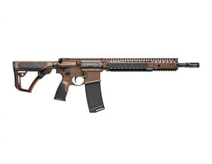 Daniel Defense M4A1 MIL SPEC+ Rifle, Cerakote Brown – 02-088-15126-011