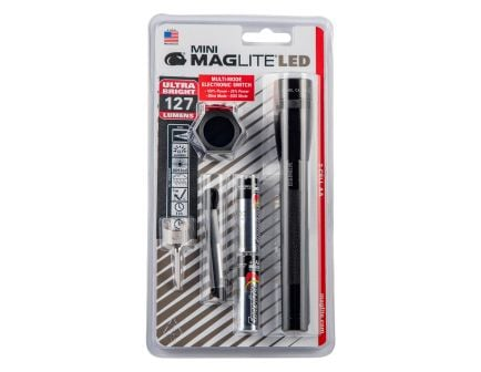 Maglite Mini Maglite LED AA 97 Lumen Flashlight | Black
