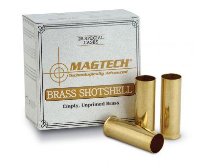 Magtech 25 Unprimed 12 Gauge Brass Shotshell Hulls For Sale