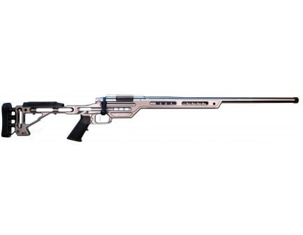 MasterPiece Arms BA PMR Competition 6mm Crd Bolt Action AR-10 Rifle, Tungsten - 6CMPMRRHTNGPBA