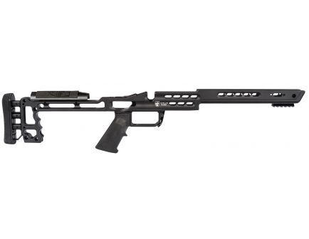 Masterpiece Arms Chassis for Remington 700 Short Action Rifles, Black - ULCHASSISREMSA-BLK-19