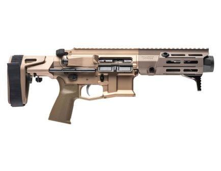 Maxim Defense PDX 5.56 NATO Round Semi Auto AR Pistol, Aird Brown