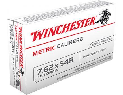 Winchester 7.62x54R 180gr SP Ammunition 20rds - MC54RSP