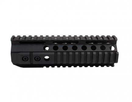 PSA SQR Hard Black Anodized 7.2 Inch Rail