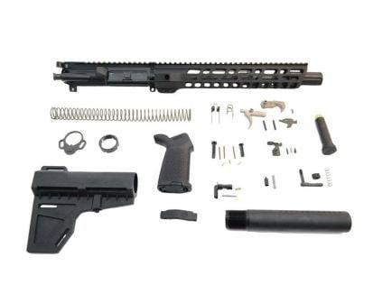 """PSA 10.5"""" Pistol-Length 300AAC 1/8 12"""" M-lok Slant MOE EPT Shockwave Pistol Kit - 5165447589"""