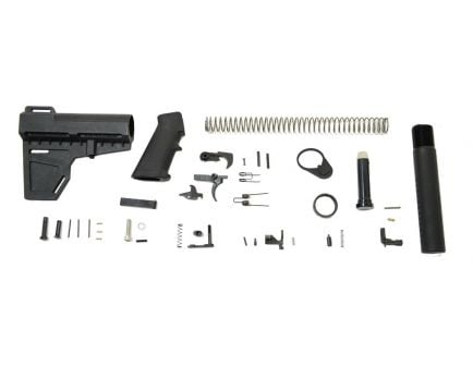 Black Shockwave AR-15 Lower Build Kit