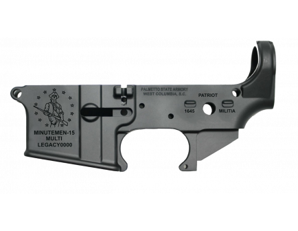 "PSA AR-15 ""MINUTEMEN-15"" Stripped Lower Receiver"
