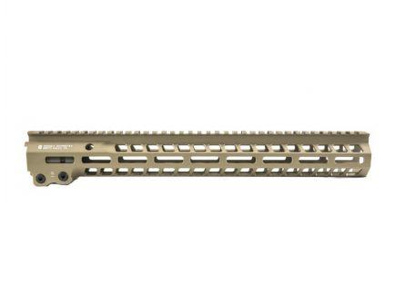 "AR-15 Upper Parts Geissele 15"" Super Modular Rail MK14 M-LOK in Desert Dirt"