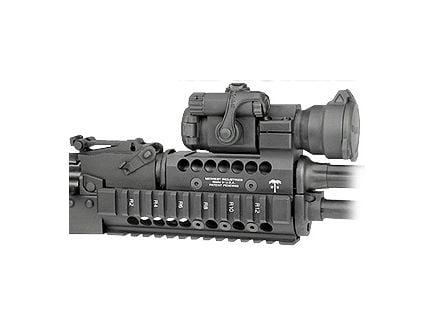 Midwest Industries Universal AK47/74 Handguard W/ Aimpoint ML2 Topcover, Black - MI-AKH-ML2
