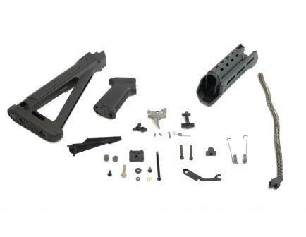PSAK-47 GB2 MOE Rifle Build Kit Black with ALG Defense AKT-UL Fire Control Group - 516445206