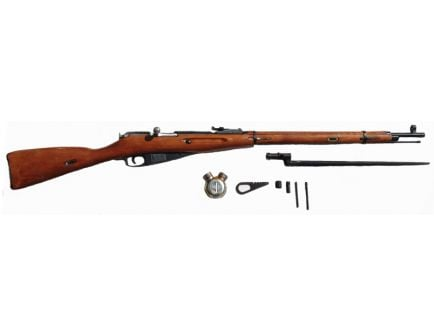 Russian Mosin-Nagant M1891/30 7.62x54R Round Receiver with Bayonet and Complete Cleaning Kit