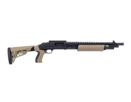Mossberg 500 ATI Tactical Pump Action 12 Gauge Shotgun, FDE