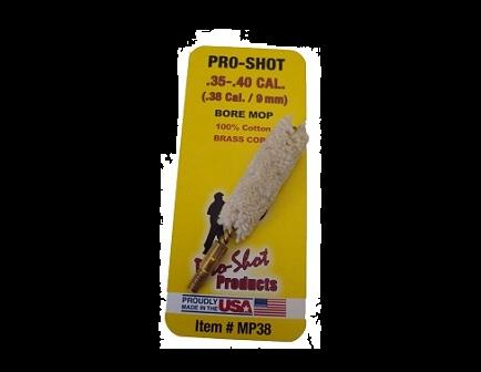 Pro-Shot .35-.40 Cal. Bore Mop MP38