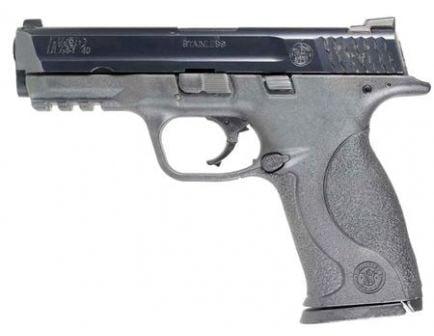 S&W M&P .40 S&W LE Trade-In Pistol Fair Condition w/ Night Sights, Black - SV309700F