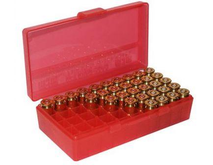 MTM FlipTop Ammo Box 9mm/380ACP-Red-50 rd-P50-9M-29