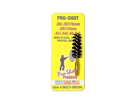 Pro-Shot .38-.45 Cal. Pistol Nylon Bristle Brush   MULTI-BRUSH