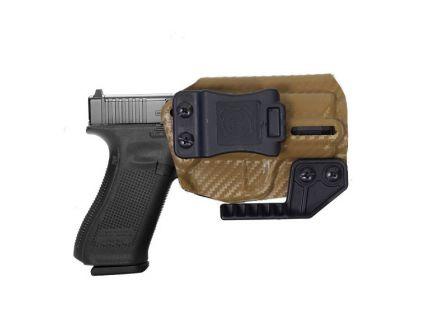 Nerd IWB Glock 17/22/31 Holster For Sale, Carbon Fiber Brown