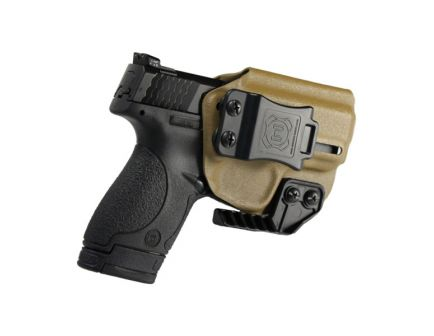 Nerd IWB Smith and Wesson Shield Holster For Sale, FDE
