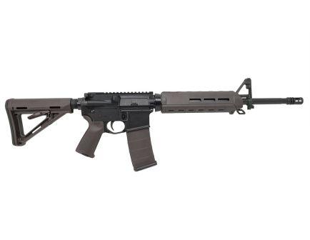 """PSA Custom 16"""" A2 Mid-Length 5.56 NATO 1/7 Nitride 15"""" MOE AR-15 Rifle, Plum"""