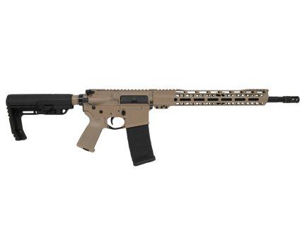 "PSA Custom 16"" Mid-Length 5.56 NATO 1/7 Nitride 15"" V2 MLOK Rail Rifle, Tan/Black"