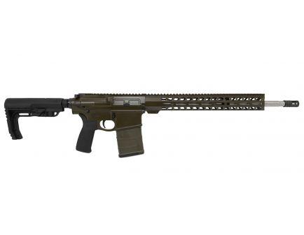 "PSA Custom Gen3 PA10 18"" Rifle-Length .308 Win 1/10 SS Lightweight 15"" Slim-Line MLOK MOE Rifle - OD Green"
