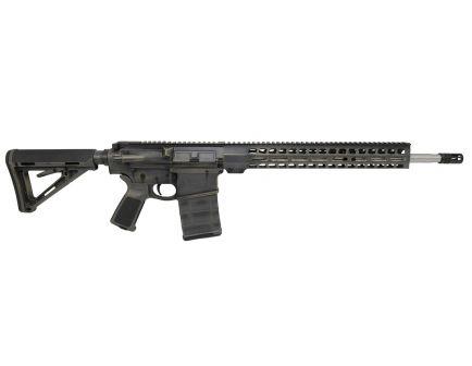 "PSA Custom ""Battle Worn"" Gen3 PA10 18"" Rifle-Length .308 Win 1/10 SS Lightweight 15"" Slim-Line MLOK MOE Rifle"