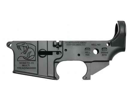 "PSA ""No Beto"" AR-15 Stripped Lower Receiver *Preorder Item (8-9 Weeks Delivery)"