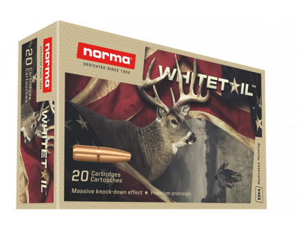 Norma Whitetail 7mm Rem Mag Ammo 150 Gr PSP 20rds - 20171512