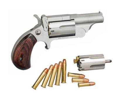 North American Arms Ranger II 22 Mag Break Top Pistol w/ .22LR Conversion Cylinder - NAA-22MC-R